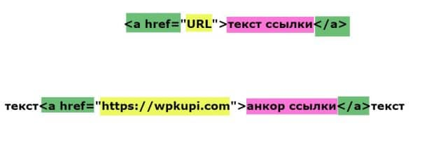 HTML ссылка