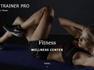Personal Trainer тема WordPress для фитнеса