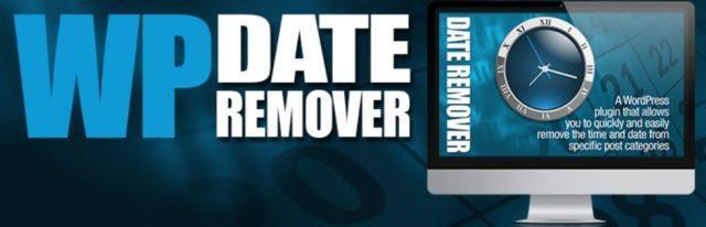 WP date remove