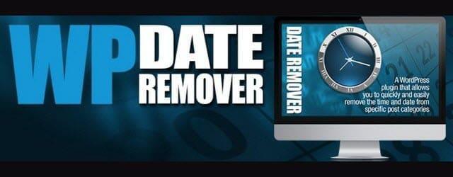 плагин убирает дату публикаций выбранных рубрик сайта